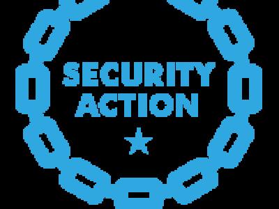 SECURITY ACTION 宣言をしました!